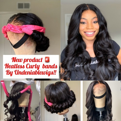 Undeniablewigs Heatless Curly Band